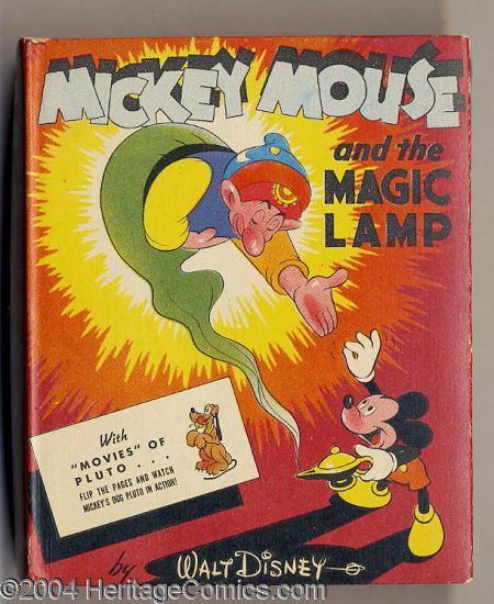 Mickey Mouse and the Magic Lamp