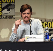 Sam Riley SDCC