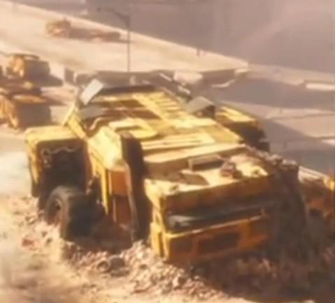 WALL-E Transport Vehicle