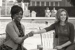 WandaVision - 1x02 - Don't Touch That Dial - Photography - Monica Rambeau and Wanda Maximoff