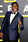 John Boyega SW Force Awakens premiere