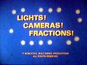 Luzes! Câmeras! Frações!