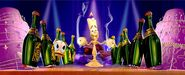 Lumiere and Donald - Mickey's PhilharMagic
