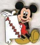 Alabama Mickey Pin