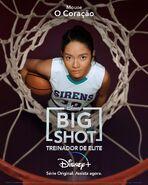 Big Shot - Treinador de Elite - Pôster de Personagem - 07