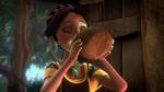 Carla drinks Shuriki's potion