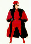 Cruella's red fur coat 2
