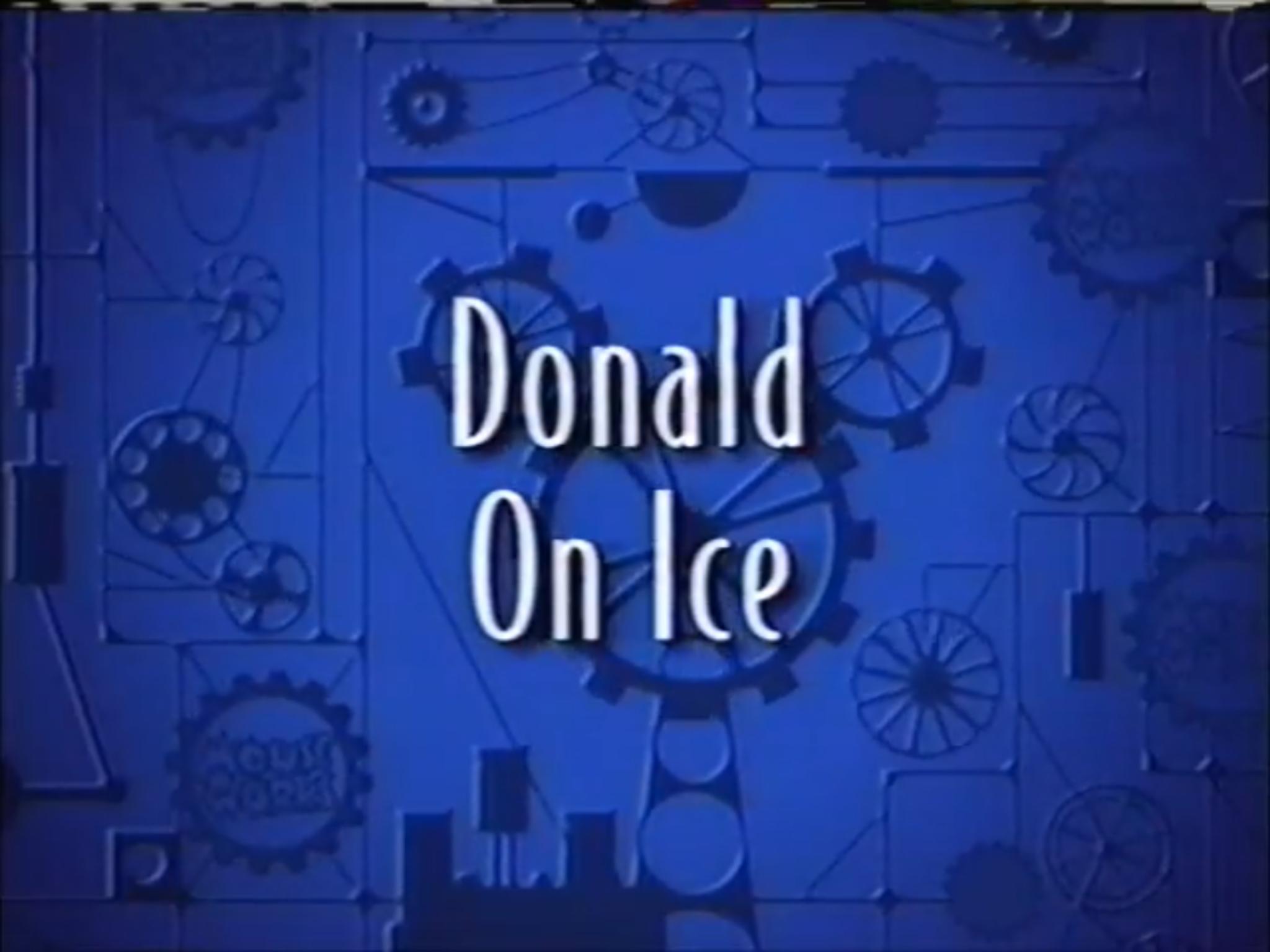Donald on Ice