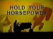 Hold Your Horsepower