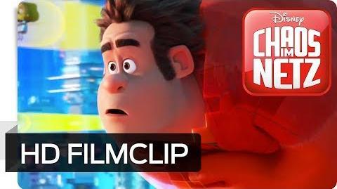 CHAOS IM NETZ - Filmclip Wir sind im Internet Disney HD