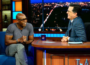 Dave Chappelle visits Stephen Colbert