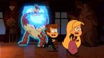 Dipper&Pacifica huyen fantasma