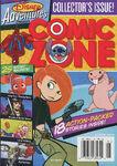 Disney Adventures Comic Zone cover Winter 2004 Kim Possible