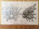 Disney Dinosaur Ankylosaurus head concept art