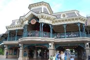 Disneyland Railroad Paris Main Street Station