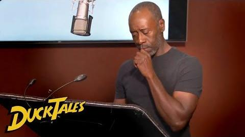 DuckTales Don Cheadle IS Donald Duck Comic-Con 2018 Exclusive Disney Channel