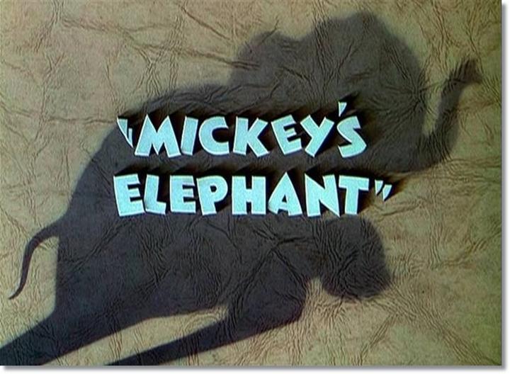 O Elefante do Mickey