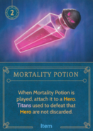 DVG Mortality Potion