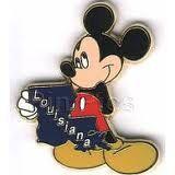 Louisiana Mickey Pin