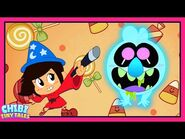 Scratch's Sugar Rush - The Ghost and Molly McGee - Chibi Tiny Tales - Disney Channel Animation-2