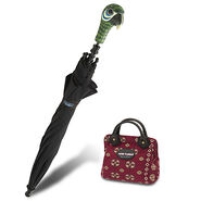 Mary Poppins The Broadway Musical Parrot Umbrella and Carpet Bag Set for Kids