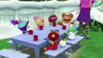 Miss Nanny and Muppet Babies at Christmas