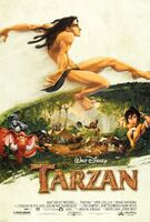 Tarzan Second Poster