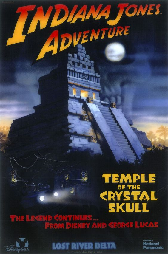 Indiana Jones Adventure: Temple of the Crystal Skull