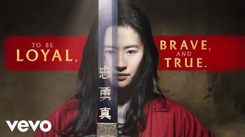 "Christina Aguilera - Loyal Brave True (From ""Mulan"" Official Lyric Video)"