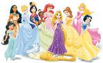 Disney Princesses Wearing Tiaras