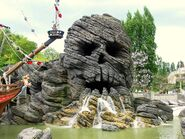 Disneyland paris skull rock