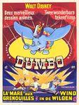 Dumbo belgian poster 1970s