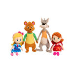 Goldie and Bear 4 Characters Dolls