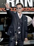 Johnny Depp Lone Ranger premiere