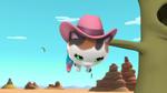 Sheriff Callie hanging