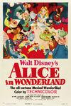 AliceInWonderland1951OfficialTheatricalPoster