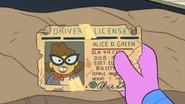 Alice Green License