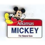 Arkansas Plate Pin