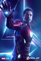 Avengers Infinity War character poster 7