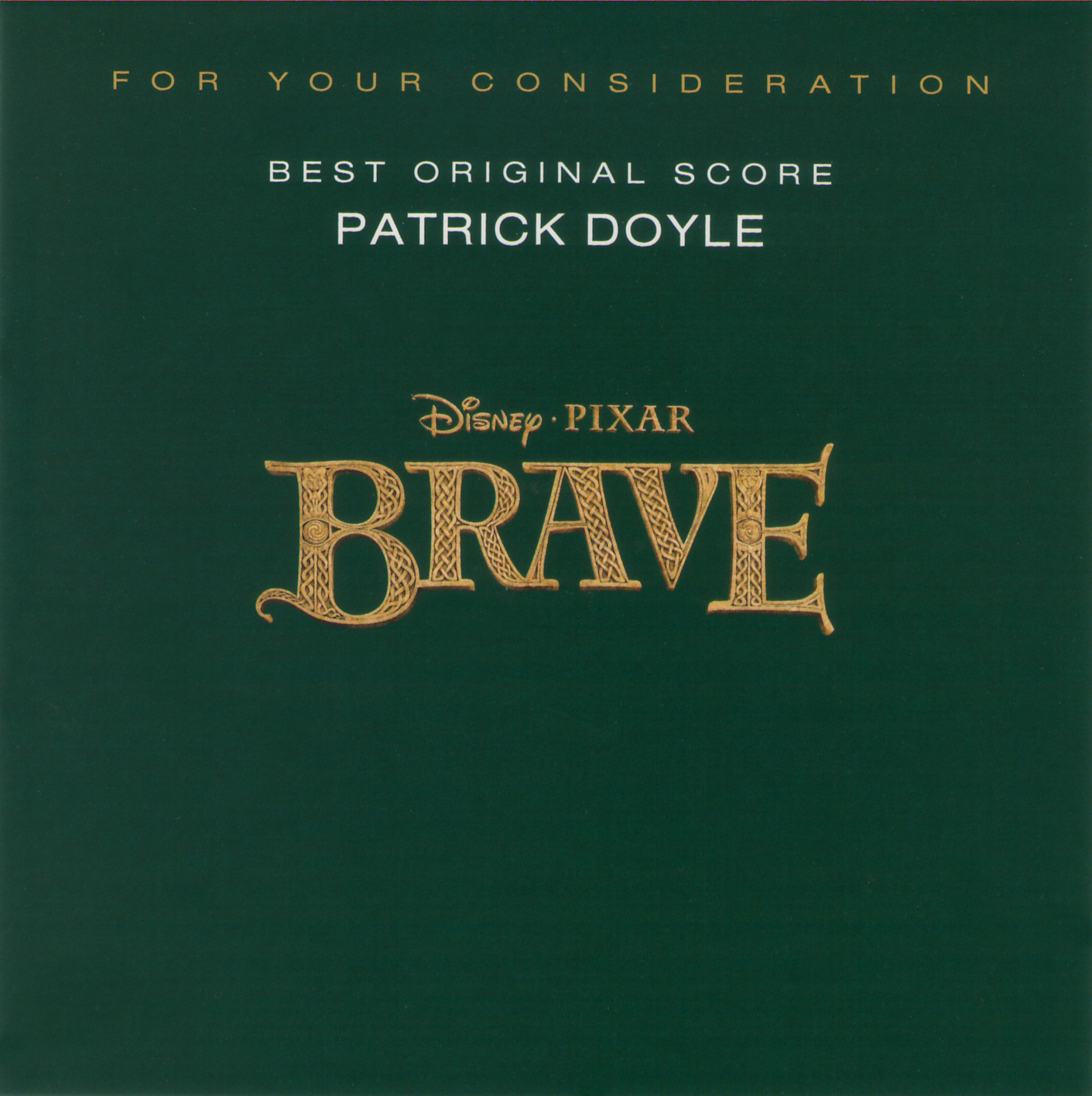 Brave (For Your Consideration Promo)