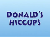 Donald's Hiccups