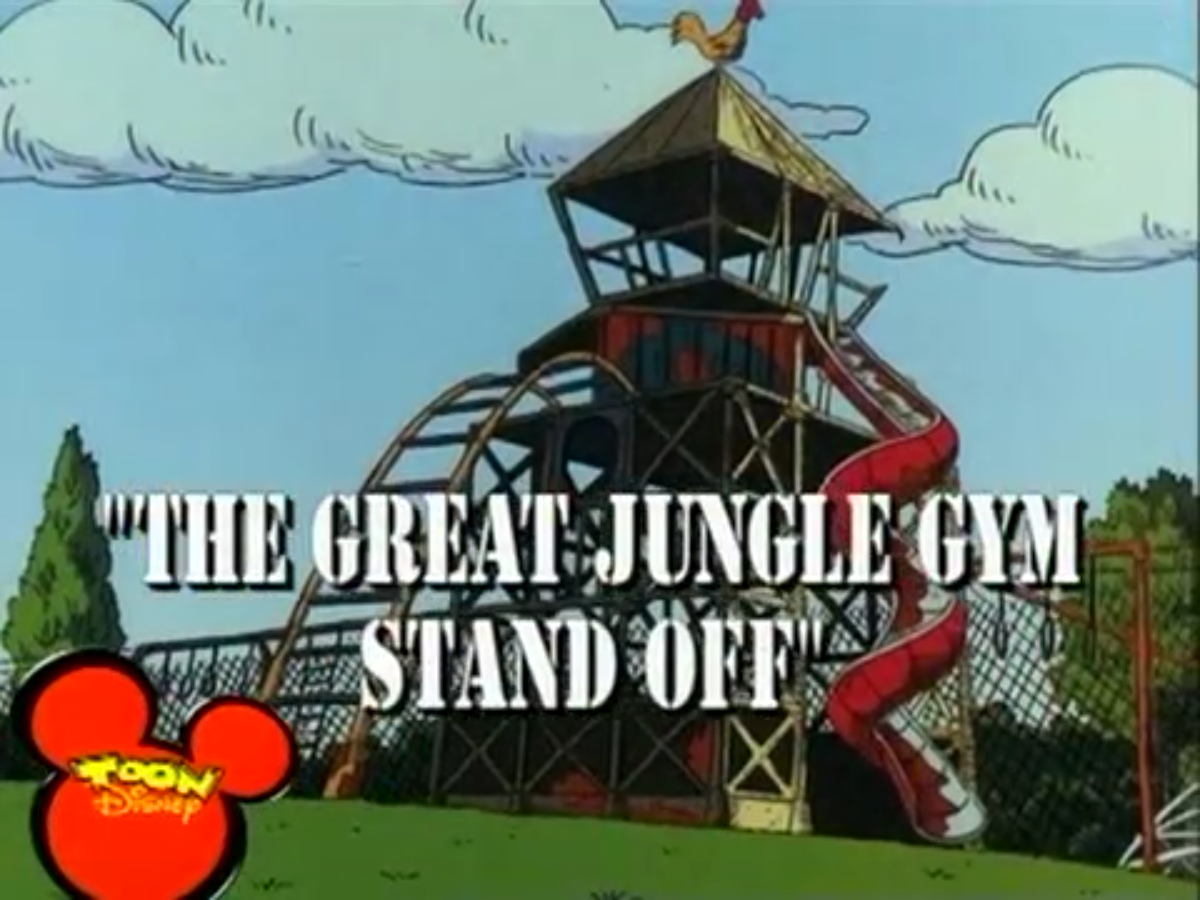 The Great Jungle Gym Standoff