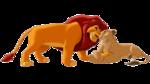 Mufasa and Sarabi Illustration