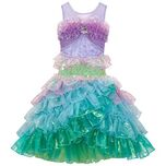 Disney Store Exclusive Deluxe Ariel Costume Dress - Limited Edition