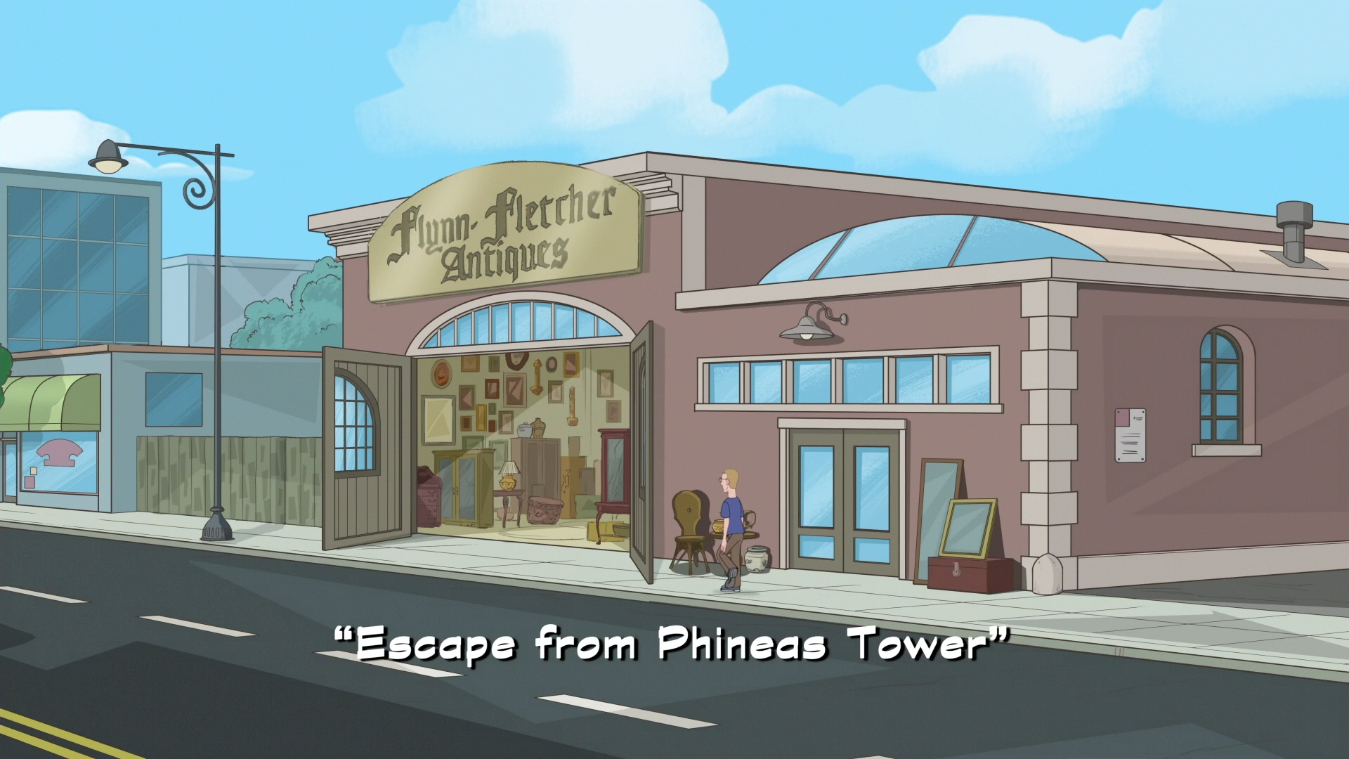 Escape from Phineas Tower