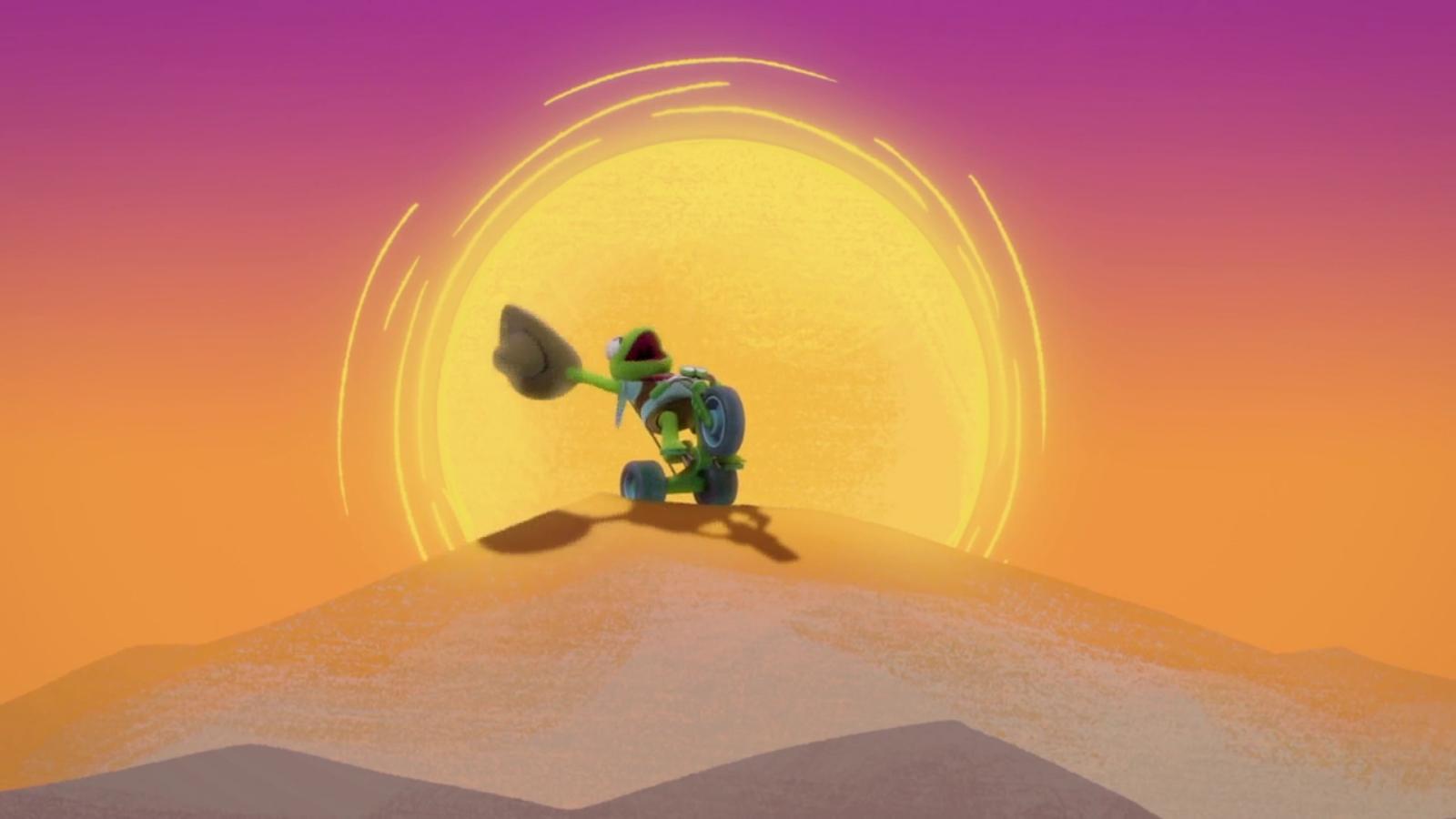 Hopalong Froggy and the Buckin' Bronco