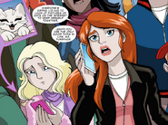 Liz Allan in Ultimate Spider-Man comic