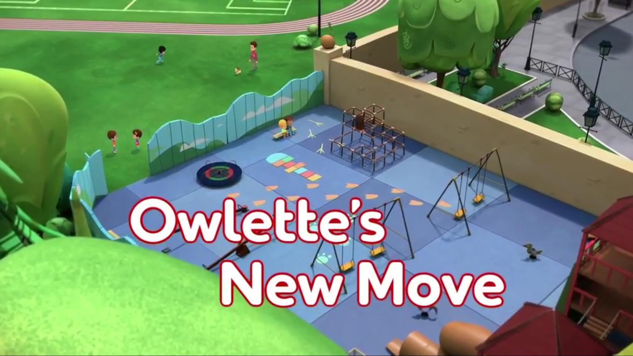 Owlette's New Move