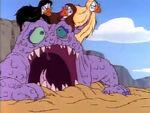 Siren Monster in pain