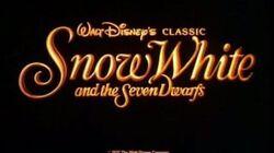 Snow White and the Seven Dwarfs - 1993 Reissue Trailer